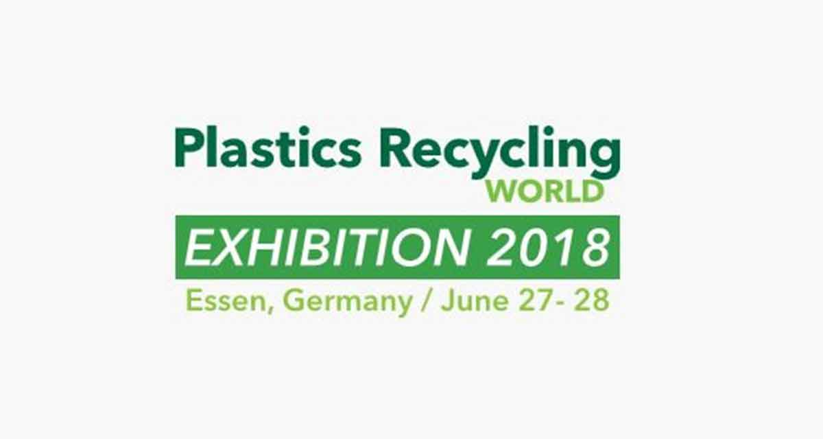 PLASTIC RECYCLING WORLD EXHIBITION 2018