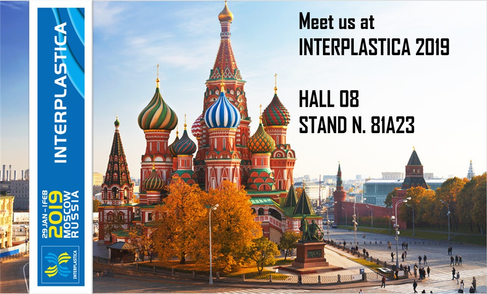 INTERPLASTICA 2019 - MOSCOW RUSSIA